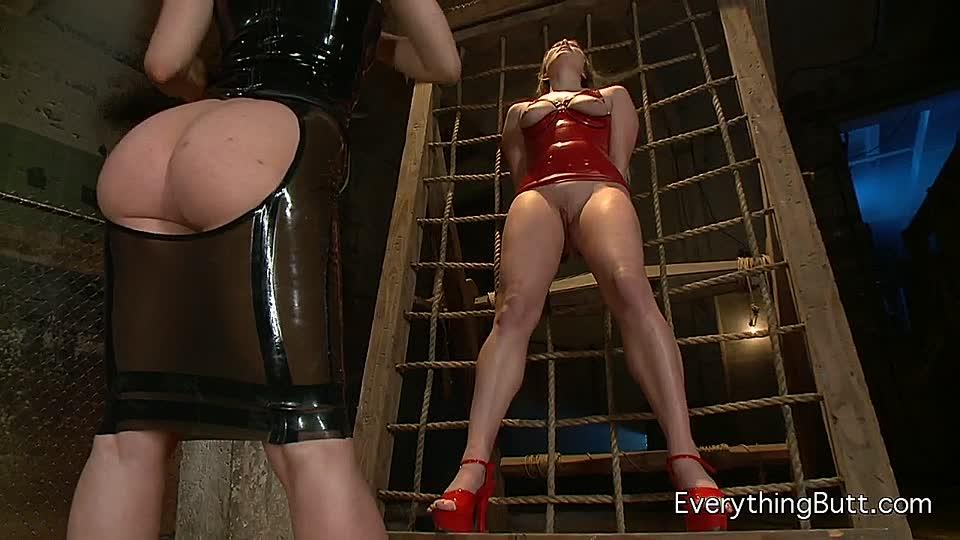 Latex Fetisch Lesbisch Sklave